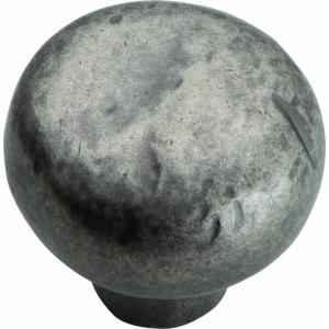 Legacy Distressed Collection 1.38 Inch Round Cabinet Knob