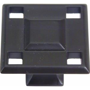 Craftsman Collection 1.30 Inch Square Cabinet Knob