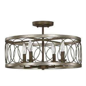 Madeline - Four Light Semi-Flush Mount