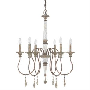 Zoe - Six Light Chandelier