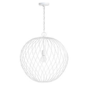 Glenda Blanc - One Light Large Orb Pendant