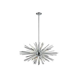 Palisades Ave - Eight Light Chandelier
