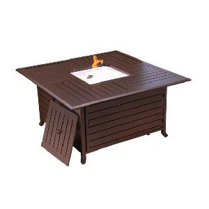 """45"""" Square Firepit with Lid"""