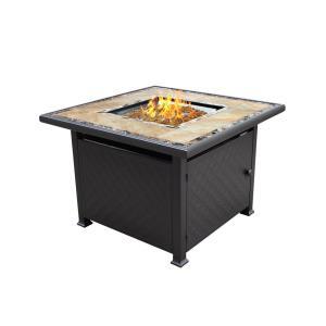 """40"""" Square Tile Fire Pit"""