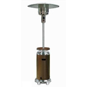 """87"""" Tall Two Tone Patio Heater With Table"""