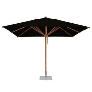"Levante - 8.5'  x 11.5' Wide, 2.25"" Diameter Rectangular Bamboo Market Umbrella"
