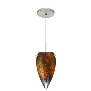 Juli - One Light Cord Pendant with Flat Canopy