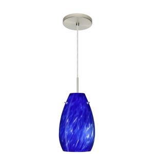 Pera 9 - One Light Cord Pendant with Flat Canopy