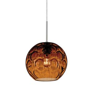 Bombay - One Light Cord Pendant with Flat Canopy