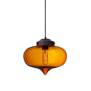 Mira - One Light Cord Pendant with Flat Canopy