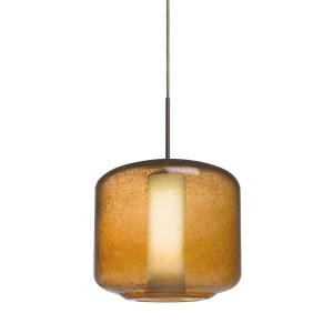 Niles 10 - One Light Pendant with Flat Canopy