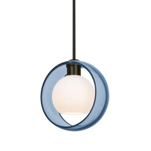 Mana - One Light Stem Pendant with Flat Canopy