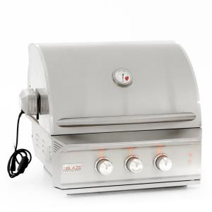 "Blaze - 27"" Natural Gas 2 Burner Professional Built-In Grill"