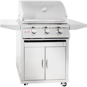 "25"" 3-Burner Built-In Grill"