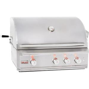 "Professional - 34"" Built-In Grill With Rear Infrared Burner"