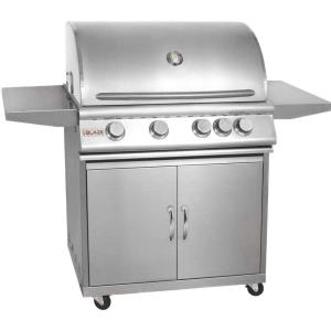 "56.25"" Grill Cart For 32"" 4-Burner Gas Grill"