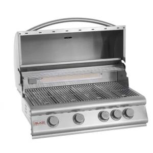 "32"" 4-Burner Grill With Rear Burner"