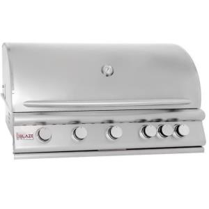 "40"" 5-Burner Grill With Rear Burner"