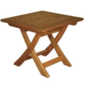 "Terrace Mates - 18"" Aspen Folding Square End Table"