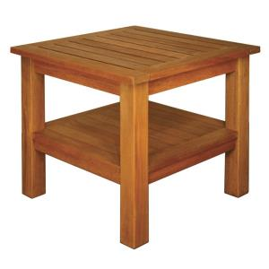 "Terrace Mates - 24"" Two Shelf High End Square Table"