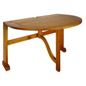 "Terrace Mates Bistro - 42"" Half-Oval Table"