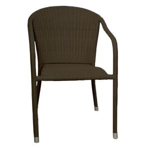 "Terrace Mates - 33"" Stacking Arm Chair (Set of 2)"