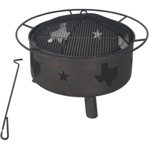"""29.9"""" Wood Burning Fire Pit"""