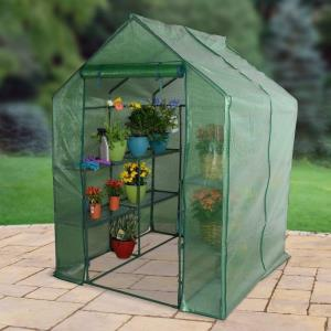 "Walk-In - 76.77"" 3-Tier Large Greenhouse"
