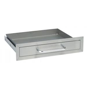 Single Drawer, Stainless Steel