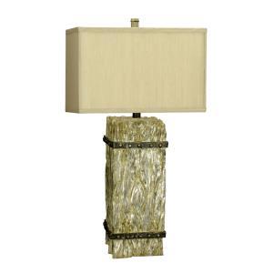 Ennis Resin Table Lamp