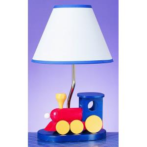 One Light Train Table Lamp