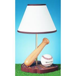 One Light Baseball Table Lamp