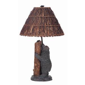 Cheyenne - Three Light Bear and Bee Table Lamp