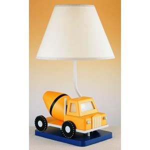 One Light Cement Truck with LED Night Lamp