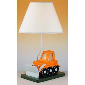 One Light Bull Dozer with LED Night Lamp