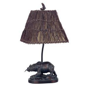 One Light Bear Accent Lamp