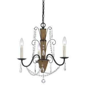 Antigo - Three Light Chandelier