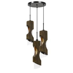 Zamora - Three Light Pendant