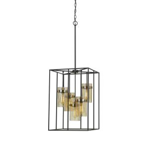 Cremona - Five Light Cage Pendant