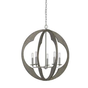 Portici - Five Light Pendant