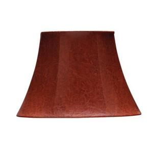 Oval Leatherette Shade