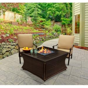 "Mendocino - 42"" Chat Height Fire Pit"