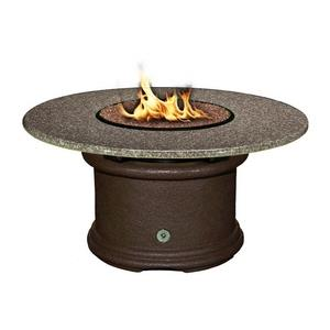 Del Mar - Chat Height Outdoor Fireplace