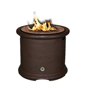 Island - Chat Height Outdoor Fireplace