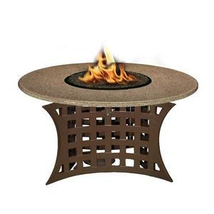 La Costa - Chat Height Outdoor Fireplace