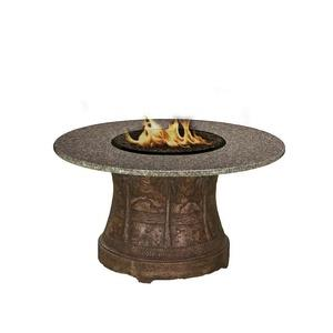 "Palm - 48"" Dining Height Capistrano Mosaic Fire Pit"