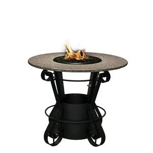 Solano - Bar Height Outdoor Fireplace