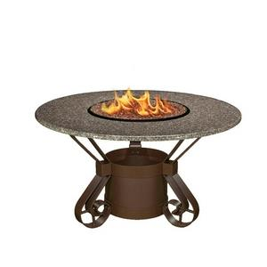 Solano - Dining Height Outdoor Fireplace