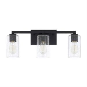 Ravenwood 3 Light Industrial Bath Vanity Approved for Damp Locations
