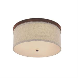 Midtown - 3 Light Flush Mount - in Modern style - 16 high by 7.25 wide